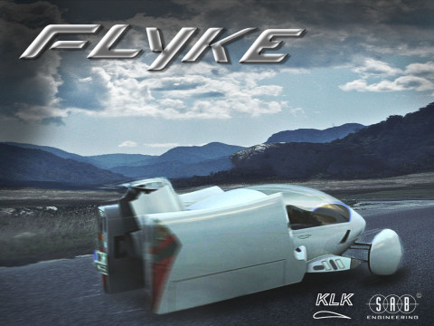 Flyke - Flying Car Concept